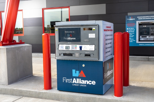 First Alliance Credit Union Commerce Drive Kiosk Drive Up