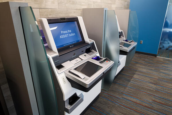 Advisor Supported Kiosk ITM Video Teller Machine at First alliance Credit Union
