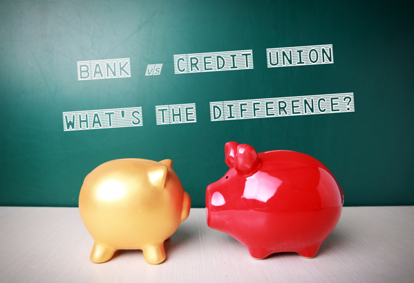 what makes a credit union different from a bank